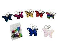 Reversible Sequin Key Chain [Butterfly]